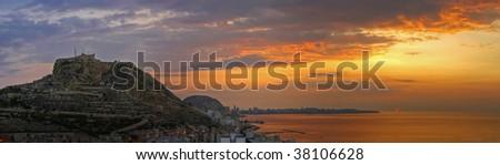 Sunrise - stock photo