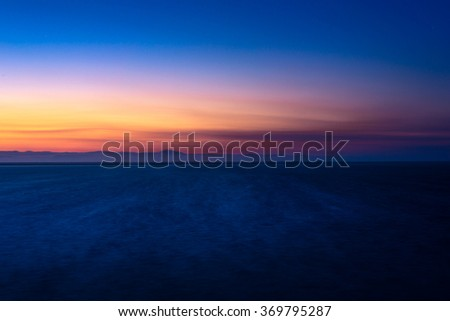 Sunrise / Gunsan / Korea - stock photo