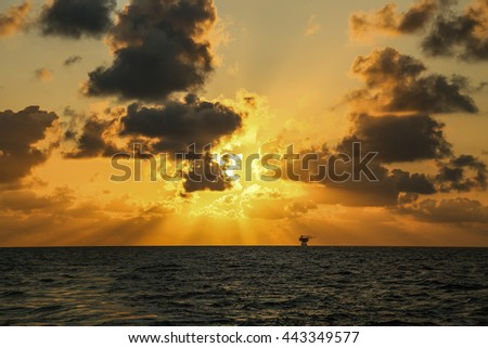 sunset and sunrise time, nature background and empty area for text, feeling love or romantic background in nature, sky background with cloud, nature background in sunset or sunrise time. - stock photo