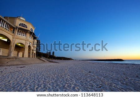 Sunset Coast, Perth, Australia - stock photo