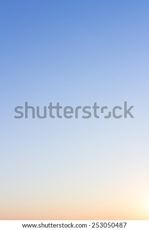 Sunset sky stratosphere background. - stock photo