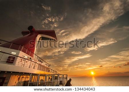 sunset, sunrise, dawn - stock photo