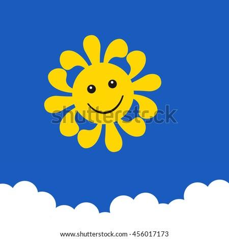 Sunshine Smile - stock photo