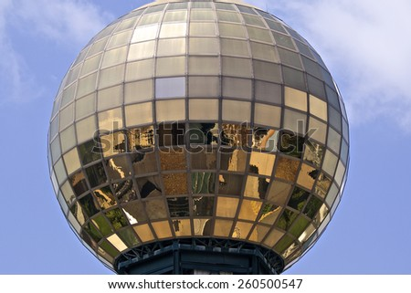 Sunsphere - stock photo
