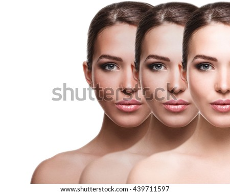 Suntan effect - stock photo