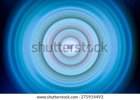 Super blur vivid big layer circle abstract wave sound Rippled circular digital effect art circle for you created technology web - stock photo