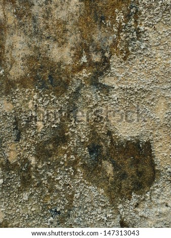 Super-grungy & dirty grey concrete texture - stock photo