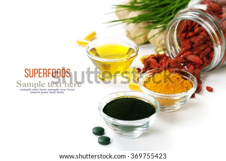 Superfoods - stock photo