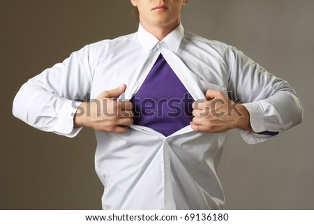 superman - stock photo
