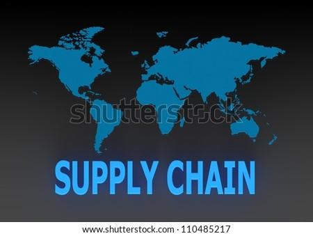 Supply Chain Management - stock photo