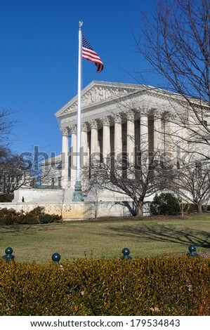 Supreme Court of the United States - stock photo