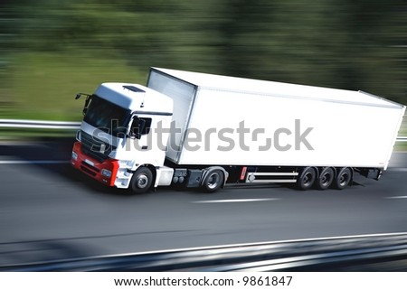 sur la route - stock photo