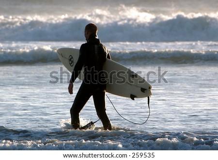 Surf On - stock photo