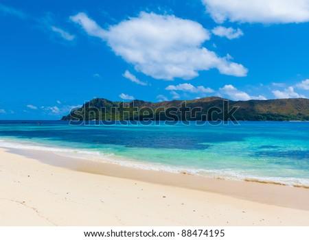 Surf Resort Sea - stock photo