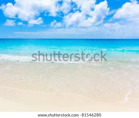 Surf Sea Splashing - stock photo