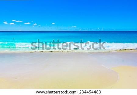 Surf Splashing Waves  - stock photo