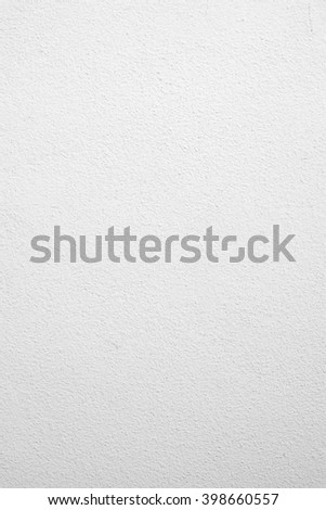 surface bright white cement wallpaper background texture:pure concrete wall backdrop for home interior,design,decorate or etc:white clean stucco backdrop.copy-space concept.room/office/kitchen wall - stock photo