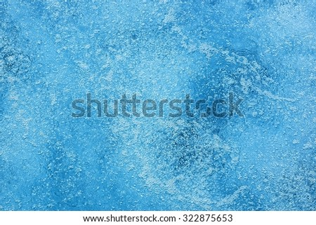 surface of bubbling water background or abstract - stock photo