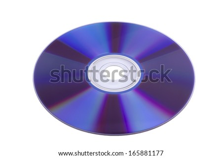 surface of the CD-ROM - stock photo