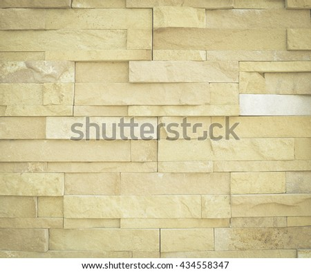 Surface wall of stone wall sepia tones for use as background brick kitchen abstract office planks rustic wood globe balcony room natural veranda masonry grunge stone board job builder building cleared - stock photo