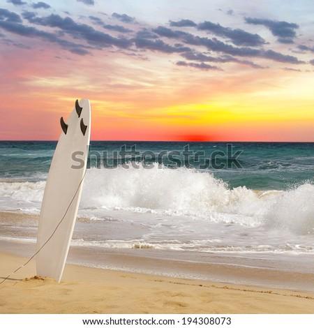 Surfing - stock photo