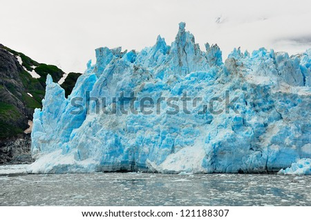 Surprise Glacier - stock photo