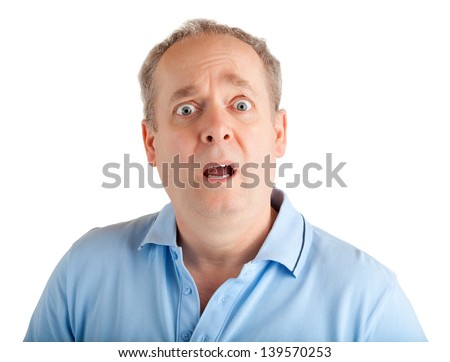 Surprised - stock photo