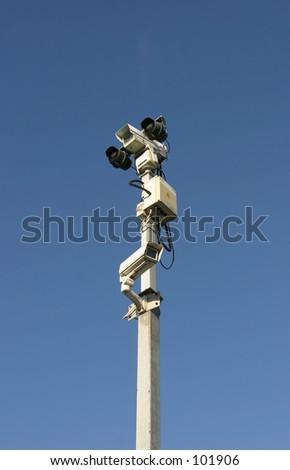 Surveillance Equipment - stock photo
