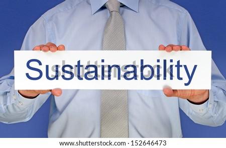 Sustainability - stock photo