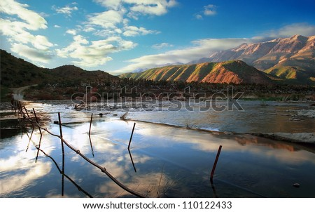 Swartberg Pass - Western Cape, South Africa, - stock photo