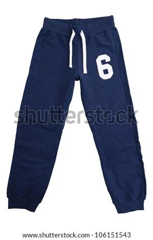 Sweatpants - stock photo