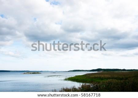 Sweden archipelago - stock photo