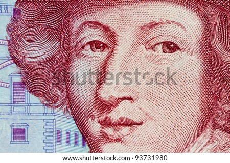 swedish krona, the currency of sweden. several bills. - stock photo