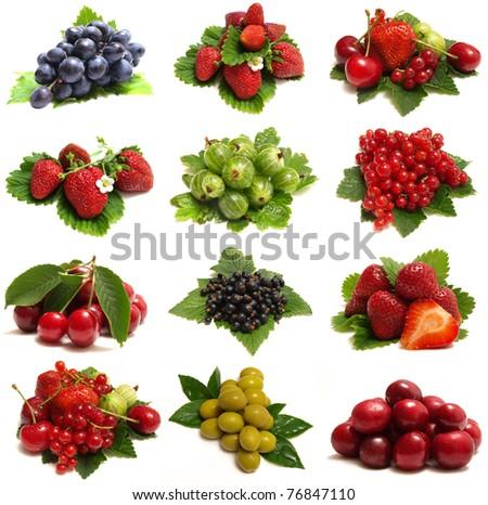 Sweet berries - stock photo