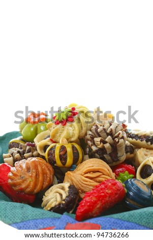 sweet cake - stock photo