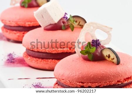 sweet cakes - stock photo