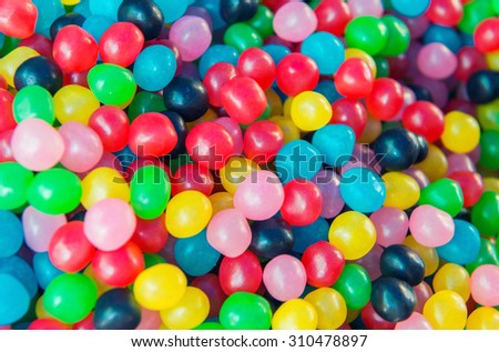 Sweet color candy. - stock photo