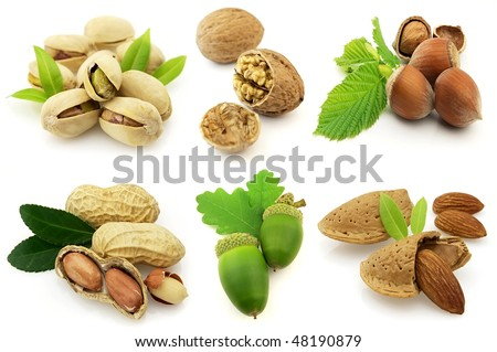 Sweet nuts - stock photo