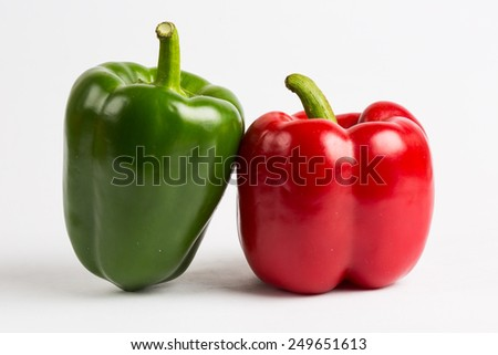 sweet pepper - stock photo
