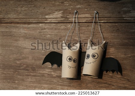 Sweetie bats of halloween - stock photo