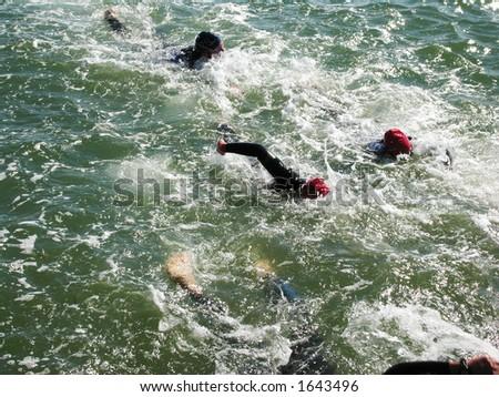 Swim Extreme - stock photo