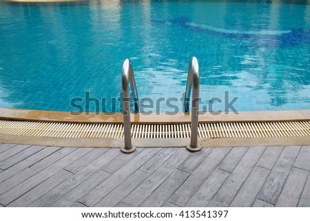 swiming pool - stock photo