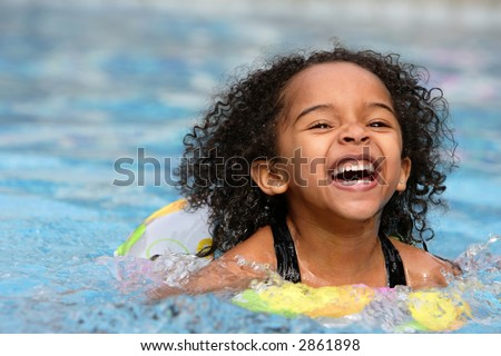 Swimming - stock photo