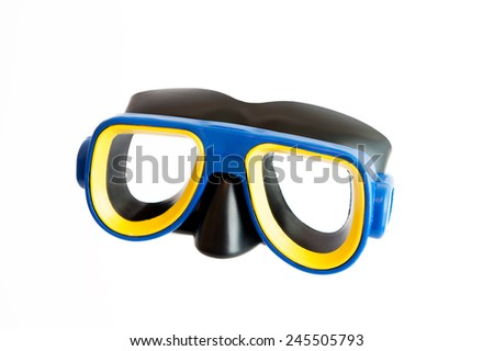 swimming goggles - stock photo