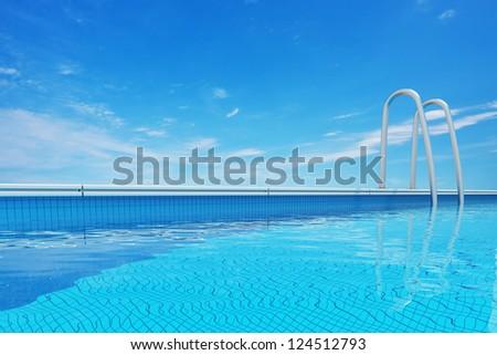 Swimming pool - stock photo