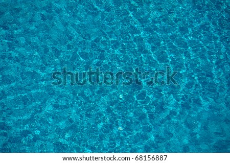 swimming pool pattern from top - stock photo