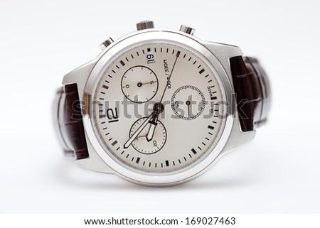 Swiss made hand watches - stock photo