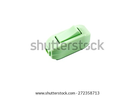 Switch turn On/Off Electric - stock photo