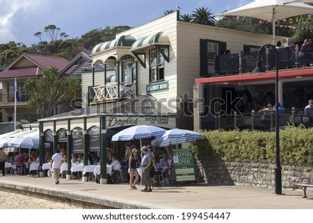 Sydney, Australia- 23th March 2013: Doyle's restaurant in Watson's Bay. The reataurant has been run by 5 generations of the Doyle family since opening in 1885. - stock photo