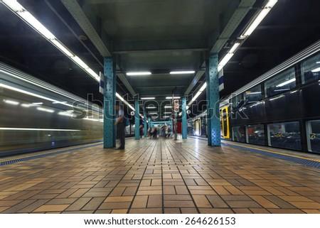 Sydney Metro - stock photo